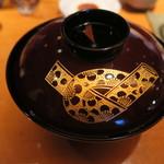 乙女寿司 - 30年9月 塗り椀
