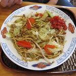元祖 神谷焼きそば屋 - 肉野菜(並)600円