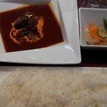 AKASAKA - 牛ホホ肉デミグラス煮込みセット \1280