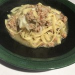 Cantina GIOIOSO - キャベツとひき肉のオリーブオイルパスタ