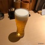 焼き鳥 きんざん - ビール
