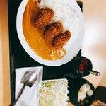 かき小屋 小江戸 - 牡蠣フライカレー