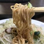 香美園 - 細麺で、軽く焦げ目も入り、とても美味しいですよ!(2018.9.12)