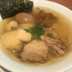えなみ - 料理写真:【2018.9.2】味玉塩らぁめん800円