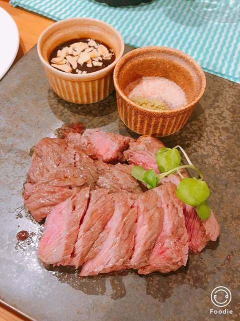 肉酒場ビストロ男前 南越谷本店 - 牛ロースステーキランチ 1580円