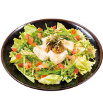道とん堀 - さっぱり豆腐サラダ