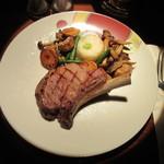 オールドインペリアル バー - 骨付き仔牛肉のグリル ソース シュプレム 5400円