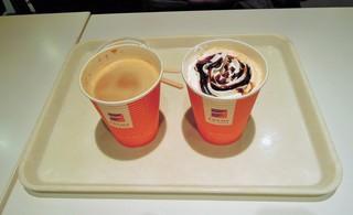 FREDS - カフェラテとカフェモカ