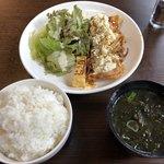 彩り酒場 こうじ - 料理写真:日替わり定食のチキン南蛮定食(税込500円)