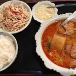 92591885 - チキンココナッツカレー定食 880円