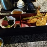 天ぷらの店 あしべ - あしべ弁当1080円