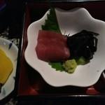 天ぷらの店 あしべ - お造り