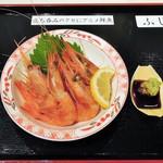 立ち喰い魚 ふじ屋 - 殻付き甘エビ