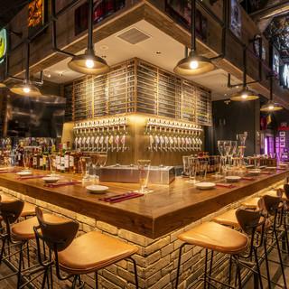厳選直輸入!【13種】世界のクラフトビールを樽生で常備!