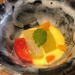 日本料理 香せり - 付け出し 人参白和え
