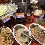 クンテープ - サラダコーナー