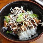 麺屋 華月 - ミニ豚マヨ丼?