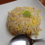 麺屋 華月 - ミニカニ炒飯