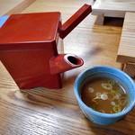 重作 - 蕎麦湯