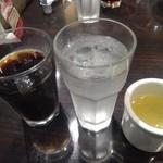 トニーローマ - アイスコーヒー・水・スープ