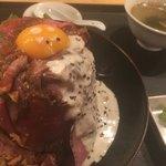MEAT MARKET - ローストビーフ丼