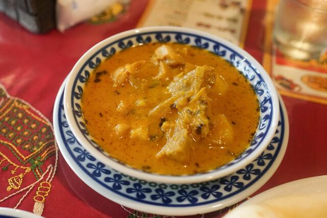 ガラムマサラの料理の写真