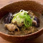 ■秋茄子と豚肉の胡麻煮