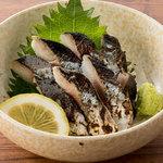 ■〆秋刀魚の炙り