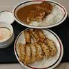 みよしの - 料理写真:盛カレーと大盛餃子