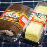 ドンレミーアウトレット - しあわせチョコスフレロール¥220・9層仕立てのミルクレープ¥220