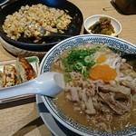 丸源ラーメン - 料理写真:チャーハン餃子ランチ