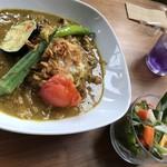 ムリーノ - 豚肉と夏野菜の花椒香るカレー