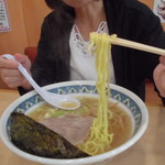 めん丸 - 醤油ラーメン590円