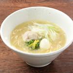 やきとりスタンダード - 料理写真:鶏白湯ラーメン