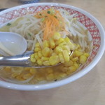 めん丸 - 塩バターコーン790円