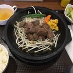 おいちぃな ステーキ - 一口ステーキランチ(¥880)