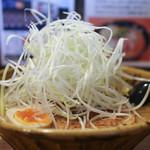 味噌ラーメン専門店 麺家一進 - 熟成合わせ味噌らーめん おすすめトッピング + 白髪ネギ☆
