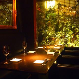 接待や記念日などの大切な宴に。おもてなしに最適な個室をご用意