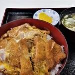 三勝 - かつ丼。普通に美味しいです。これで580円は、コスパいいです。
