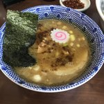 92614954 - 特製つけめん ¥980                       辛味 ¥100                                              つけ麺スープ碗