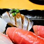 すし屋魚真 - 秋刀魚