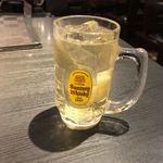 麺酒房 実之和 - 角ハイボール(490円)