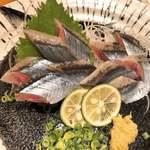 魚に鍋に炭火焼 いちかわ 藤 -