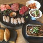 福島 焼肉寿司 - 入門セット