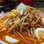 92620552 - コク旨卵麺+野菜大盛り+コーン