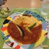 日比谷松本楼 - 料理写真:「オムレツライス」(トマトチキンカレーソース)1,180円