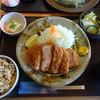 とんかつかつ饗 - 料理写真:いももち豚の厚切り定食