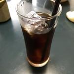 うしお - 食後はコーヒーか抹茶アイスが付いてきます