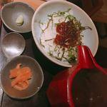 豆腐料理 空野 - 漬けマグロのお茶漬け