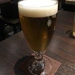 焼き鳥カフェ 鶏小屋 - 生ビール